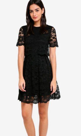 Zalora Bridesmaid Lace Dress