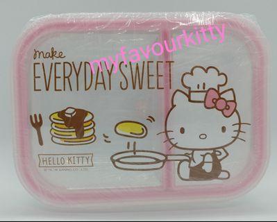 Hello Kitty 玻璃食物盒 - 廚師款