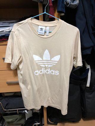 🚚 Beige Adidas Originals Tshirt