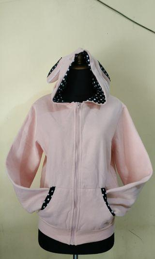 Jaket pink rabbit