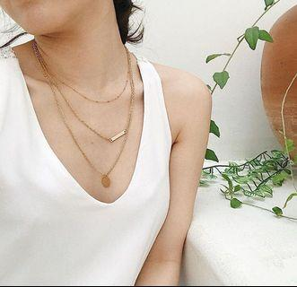 Nieka Chamie Layered Necklace