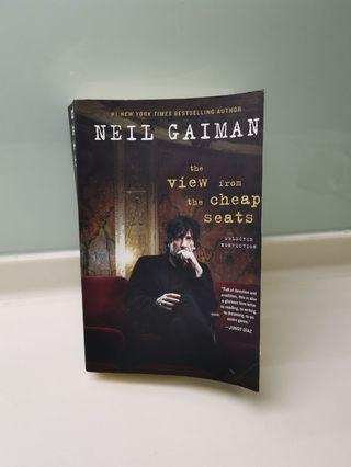 Neil Gaiman: the view from the cheap seats
