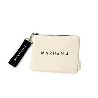 Marhen J pouch white