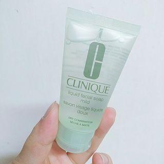 Clinique_Liquid Facial Soap洗面液30ml(Sample)