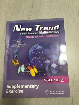 New Trend Senior Secondary Mathematics