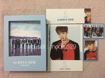 WANNA ONE TBO PARK JIHOON FULLSET