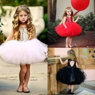 Lovely Girls Party Dress