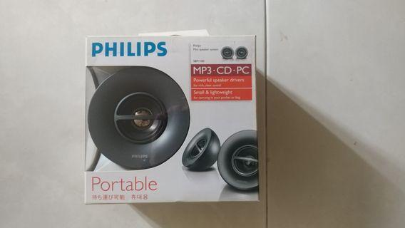 Brand New Unused Portable Philips Speaker