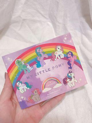 Colourpop彩虹小馬眼影盤Little Pony