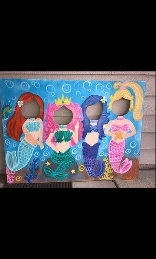 Mermaid Photobooth