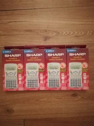 Sharp (EL-509WM-WH) Calculator