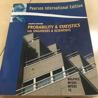 Probability & Statistics For Engineers & Scientists Eighth Edition - 資訊工程