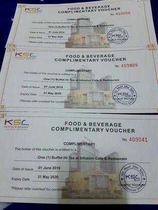 Buffet Hi-Tea @ Infusion Cafe & Restaurant ( KSL Resort Johor Bahru)