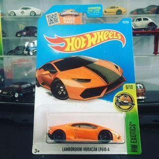 Hotwheels Lamborghini Huracan LP610-4