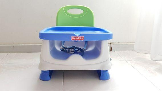 🚚 Fisher-Price Healthy Care Dining Booster Seat high chair