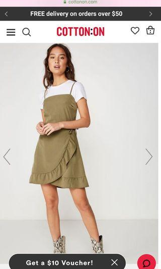🚚 Woven Kiki Summer Mini Dress