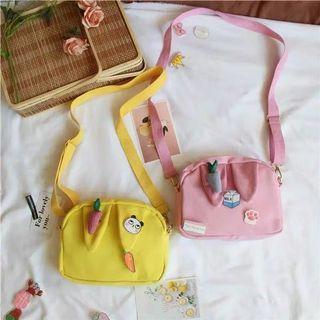 Cutest sling bag no champion h&m pull n bear bershka balenciaga supreme