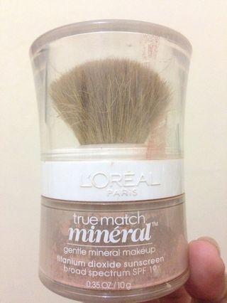L'Oréal true match minéral powder