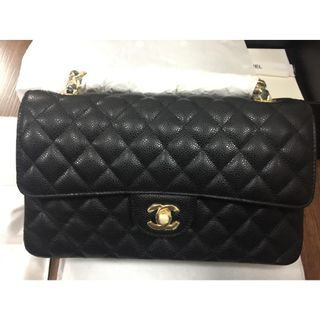 9333087e2fbe BNEW Chanel Re-issue 2.55 Caviar Double Flap Medium GHW leather bag