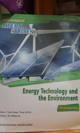 New Horizon Liberal Studies Energy Technology and the Environment