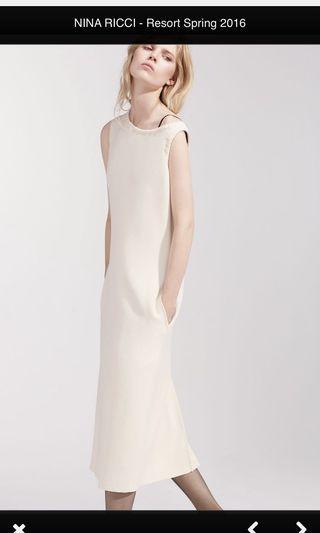 Nina Ricci 米白洋裝