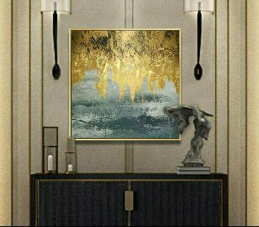 Instock canvas wall Painting- last pc