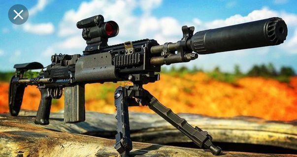 CA M14 EBR SUPPRESSED