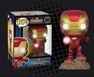Funko Pop Iron Man Light up