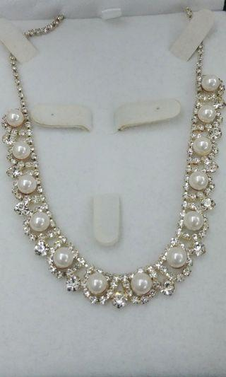 Necklace 閃閃結婚頸鏈(連盒)