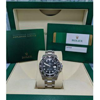 Rolex Brand New & Discontinued GMT Master II Black