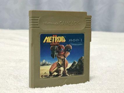 Gameboy GB Metroid 2 銀河戰士 日版裸卡