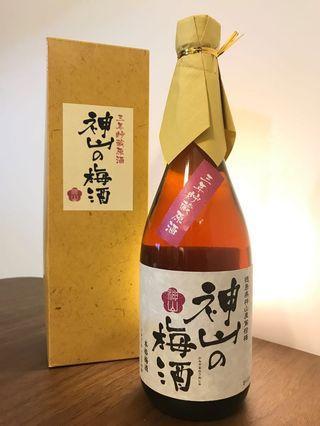 日新酒類神山之梅酒 (3年古酒原酒)