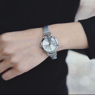 Stainless Steel Mesh Wrist Watch