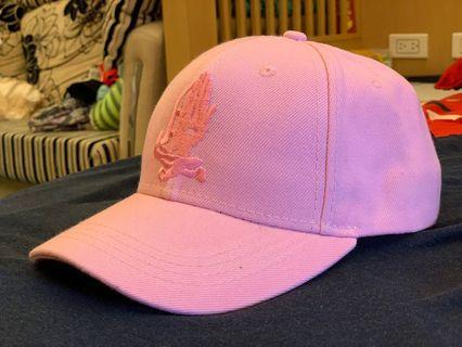 🚚 日本古著粉紅帽