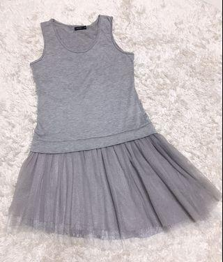 MOMA背心紗裙(閃金絲)
