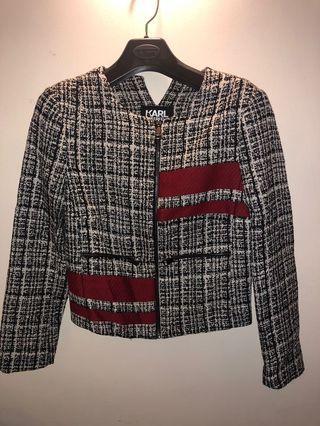 Karl Lagerfeld Tweed 外套