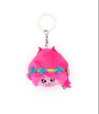 DreamWorks KouKou Plush Keychain - Poppy (Trolls)