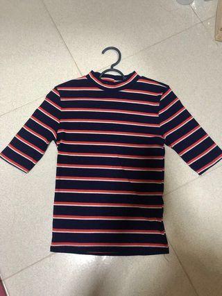 Ribbed Stripe Top