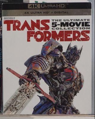 Transformers The Ultimate 5-Movie Collection 4k Ultra HD