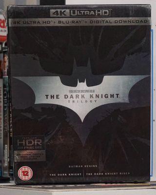 The Dark Knight Trilogy 4k Ultra HD Blu-ray