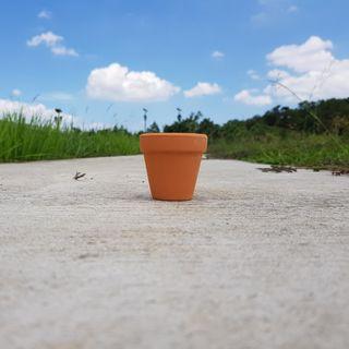 🚚 3pcs 6.5cmx6.5cm Terracotta Pots
