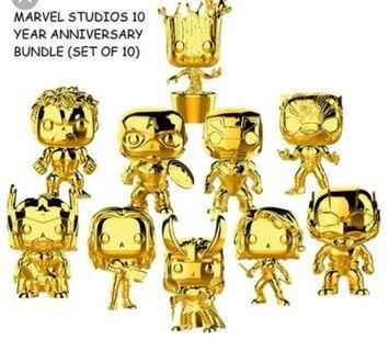 Marvel. Chrome pop bundle