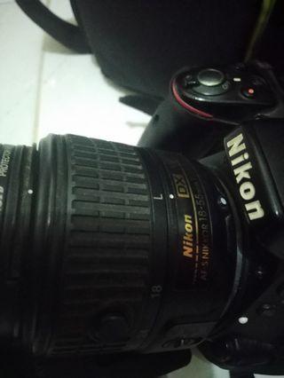 NIKON D5300 plus lensa kit bonus tas kamera