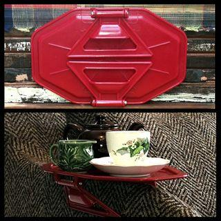 🏴 COLLAPSIBLE 1950'S ARM CHAIR TRAY