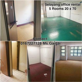 Direct owner Selayang office/shoplot rent