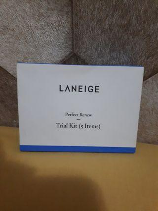 laneige perfect renew trial kit ( 5 items)