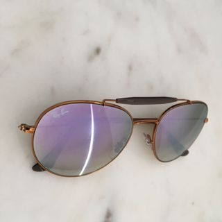 781a8a8c0a Ray-Ban Round Shape Lilac Gradient Flash sunglasses