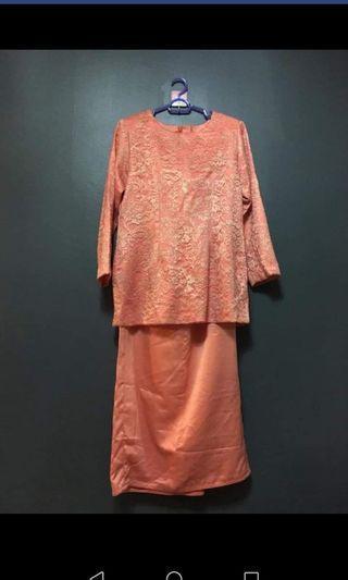 Baju kurung modern with lace
