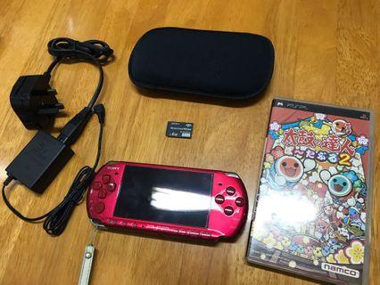 PSP 3006 Red 全套