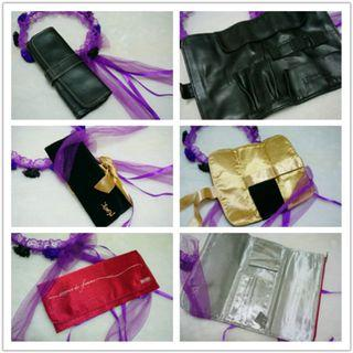 🚚 [pouch collection] Sephora, YSL makeup brush / toiletry pouch